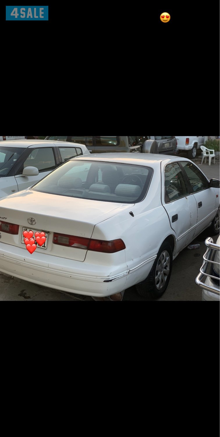 Sold Camry in very good condition with new beema guaranteed